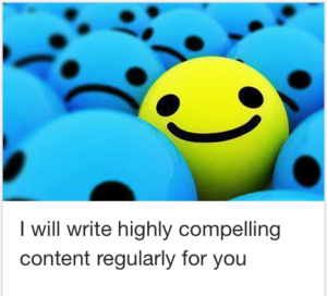 Best Writing Gig On Fiverr